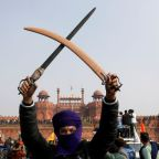 Within hours, Indian farm protests turned from carnival to violent clashes