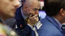 Stocks claw their way back from steep drops led by tech