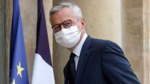"""L'évolution du PIB au dernier trimestre """"risque"""" d'être négative, prévient Bruno Le Maire"""