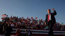 Trump quiere impulsar la campaña en otro estado clave a dos semanas para las elecciones