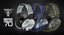 Turtle Beach's Best-Selling Recon 70 Gaming Headset Now Available In Silver, Green Camo, And Blue Camo