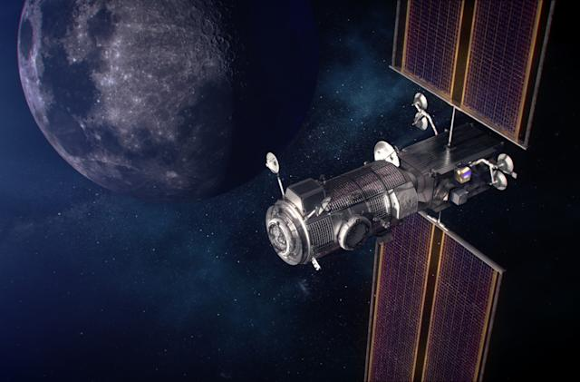 NASA taps SpaceX to bring its Gateway station to the Moon
