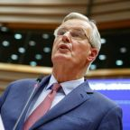 EU's Barnier says cannot rule out that Brexit gets postponed