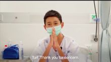 Thai Boys Rescued From Cave Say 'Thank You' In New Video