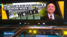 SoftBank CEO's Leveraged Fortune Leaves Him Susceptible to WeWork Woes