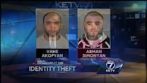 Men linked to wireless theft