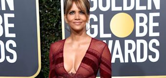 'Hot as hell': Halle Berry stuns on Globes carpet