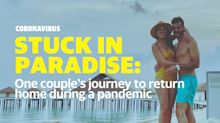 Coronavirus: Honeymooners finally back home after their story of being stranded in the Maldives became global