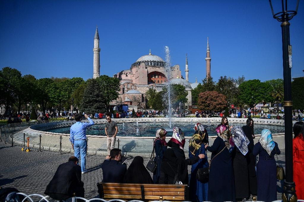 The Hagia Sophia in Istanbul has been a church and a mosque over its long history