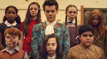 Harry Styles surprises fans with 'Kiwi' music video featuring children, puppies and cake
