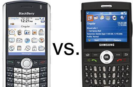 BlackBerry versus BlackJack: RIM sues Samsung for trademark infringement