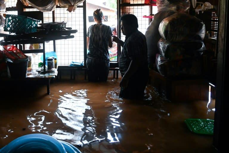 Seasonal monsoon rains batter the country every year
