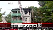 7 Hurt In Waltham Triple-Decker Fire