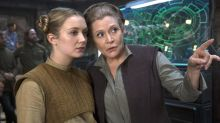Carrie Fisher and Daughter Billie Lourd Will Appear in Scenes Together in New   Star Wars Film
