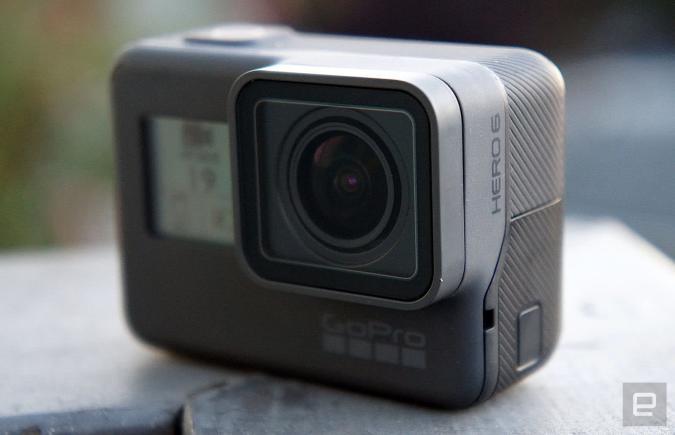 La Hero6 Black de GoPro - James Trew/Engadget