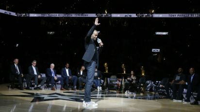 Spurs retire French NBA star Parker's number in ceremony