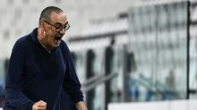 Sarri urges Juve 'not to lose heads' as Serie A title within grasp