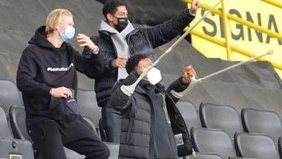 Foot - ALL - Dortmund - Erling Haaland (Borussia Dortmund) a repris l'entraînement