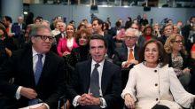 """Aznar pide a Rajoy """"recuperar"""" el pacto porque las pensiones no se pueden afrontar con """"mayorías precarias"""""""