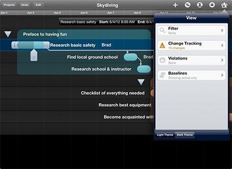 The Omni Group releases OmniPlan for iPad