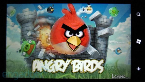 Angry Birds lands on Windows Phone 7, ready to explore the third ecosystem
