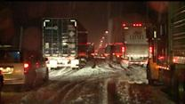 Too Much Snow: Winter Blast Shuts Down Highway