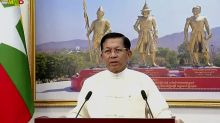 100 days in power, Myanmar junta holds pretense of control