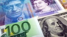 Dollar rises versus yen, Swiss franc as risk appetite improves