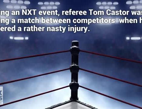 WWE NXT referee suffers gruesome leg break during match, still finishes  count