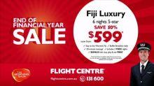 Flight Centre Fiji deal