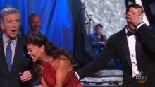 'Dancing With the Stars' wardrobe malfunction doesn't slow down Vanessa Lachey