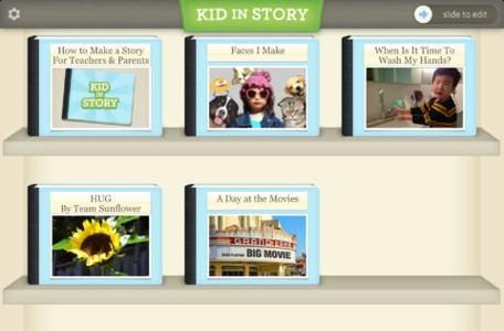 Kid in Story Book Maker is a personalized story creator for children and their parents, educators or SLPs