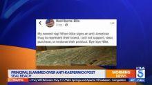 'Racist' elementary school principal under fire for calling Colin Kaepernick an 'anti-American thug'