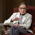 The Latest: Trump orders flags at half-staff for Ginsburg