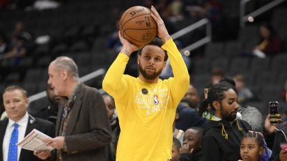 Report: Curry making his comeback Sunday