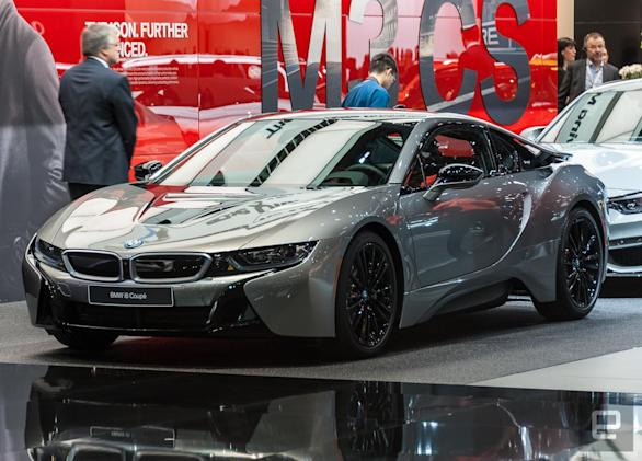 BMW's latest hybrid is the i8 Coupe