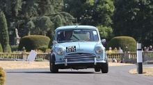 Bentley and Mini celebrations headline Chateau Impney hillclimb