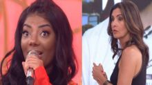 Ludmilla comete gafe ao vivo no programa 'Encontro'