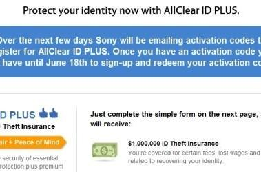 Sony offers free Debix identify theft protection for PSN and Qriocity hack victims in US