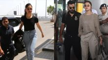 Deepika's Impeccable Or Anushka's Casual: Whose Airport Look Inspired You More?