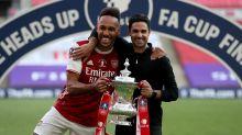 Arteta admits he was worried Aubameyang would depart Arsenal