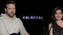 'Colossal' Stars Anne Hathaway and Jason Sudeikis Recommend Skipping the Trailer for 'Colossal'