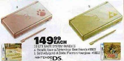 Two new DS Lite models, both branded & bundled