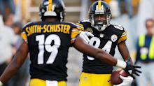 Antonio Brown, JuJu Smith-Schuster are taking shots at each other
