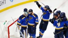 Blues KO Sharks in Game 6, reach first Final since '70