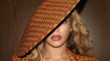 El look 'artístico' de Beyoncé
