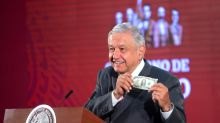 López Obrador sugiere no usar reservas internacionales de México para detener caída del peso