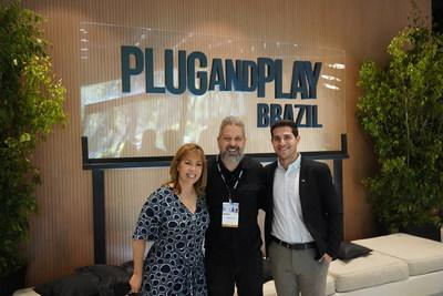 Founding member Claro is bringing Plug and Play's operation to Brazil