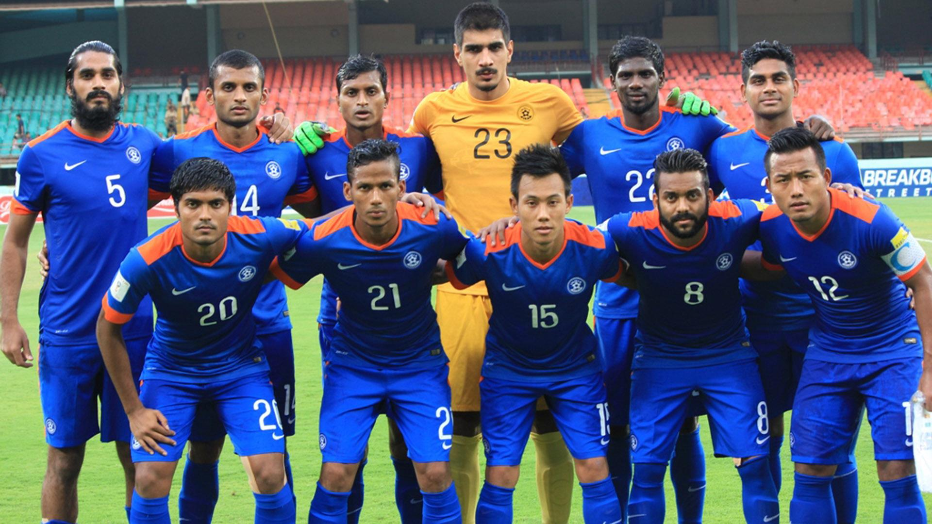 new concept bf3b7 95a20 Indian National Football Team drawn against Laos in 2019 AFC ...