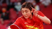 Olympics-Table Tennis-China eye 'highest honour' as women's team advance to quarter-finals